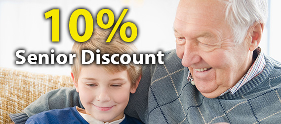10% Plumbing Senior Discount when you call a  Rosebery plumber